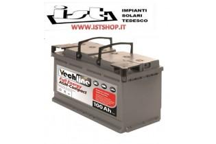 15935585 Batteria Vechline Full Cycling Agm 120 Ah Ricambi Camper Caravan  CAS