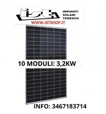 Pannelli fotovoltaici per impianto 3200W 24v per impianto