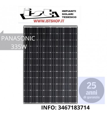 Pannello Fotovoltaico 335W Monocristallino PANASONIC
