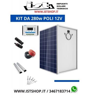Pannello Fotovoltaico da 280W policristallino che rende 21Ah ideali per tensioni di 12V