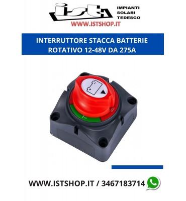 INTERRUTTORE STACCA BATTERIE 12-48v