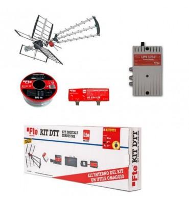 Antenna digitale terrestre kit completo