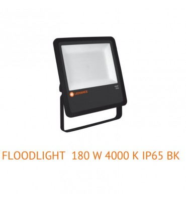 Faro led 180w  180W/4000K BK 100DEG IP65