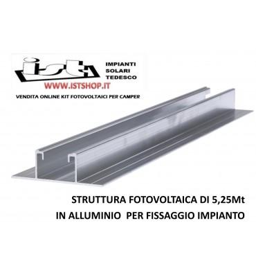 Profilo Fotovoltaico in Alluminio per lamiere